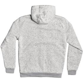 Quiksilver Keller Sherpa-Lined Fleece Top Heren, light grey heather